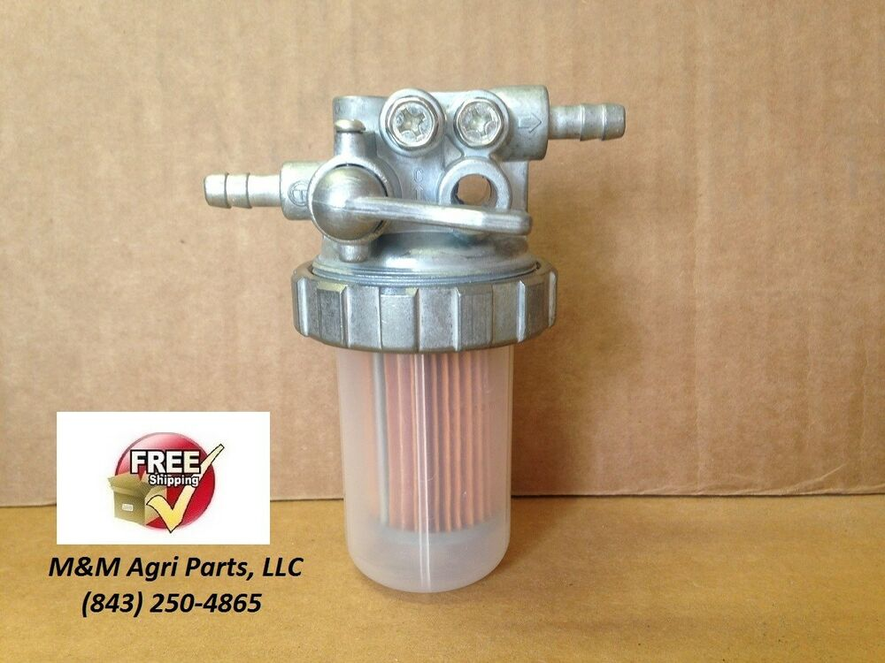 Massey Ferguson Fuel Filter Assembly : Fuel filter valve assembly yanmar john deere kubota massey