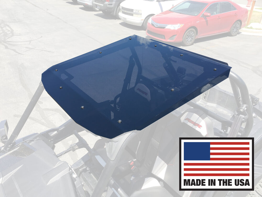 Tinted Polycarbonate Rzr Roof Top Xp 1000 Turbo 900 S