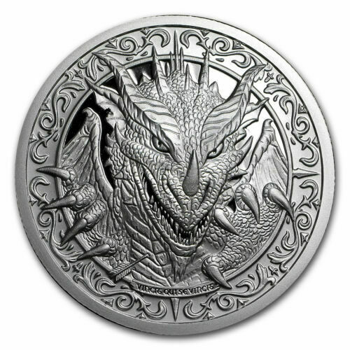 The Destiny Coin 2 The Dragon 2 Oz 999 Silver Bu