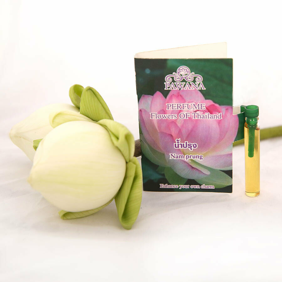 New Lotus Flower Fragrance Bualuang Thai Flowers Odor Women Perfume