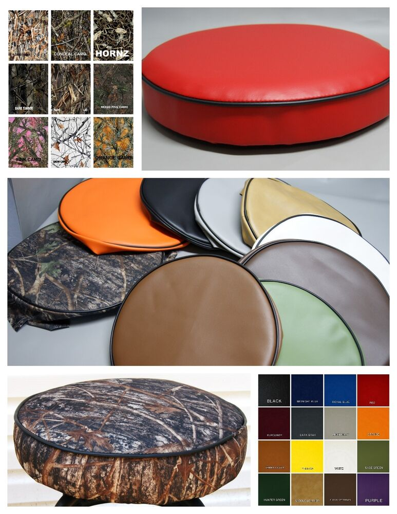Bar Stool Cover Vinyl Or Camo Pub Kitchen Snack In 25
