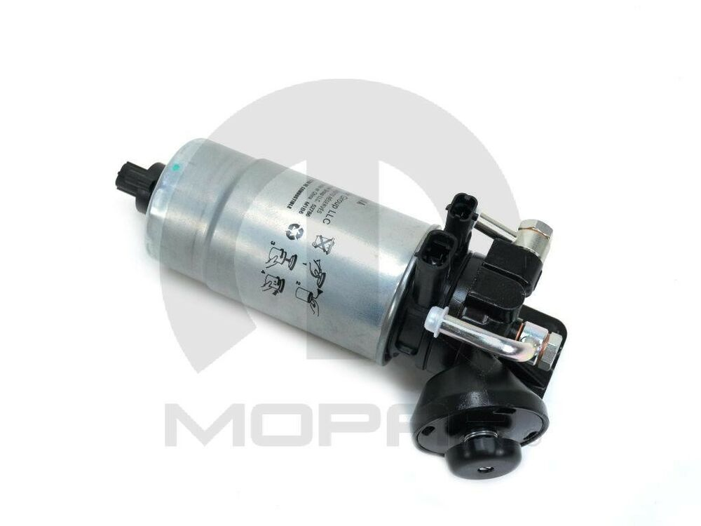 fuel water separator filter mopar 68043089aa fits 05 06. Black Bedroom Furniture Sets. Home Design Ideas