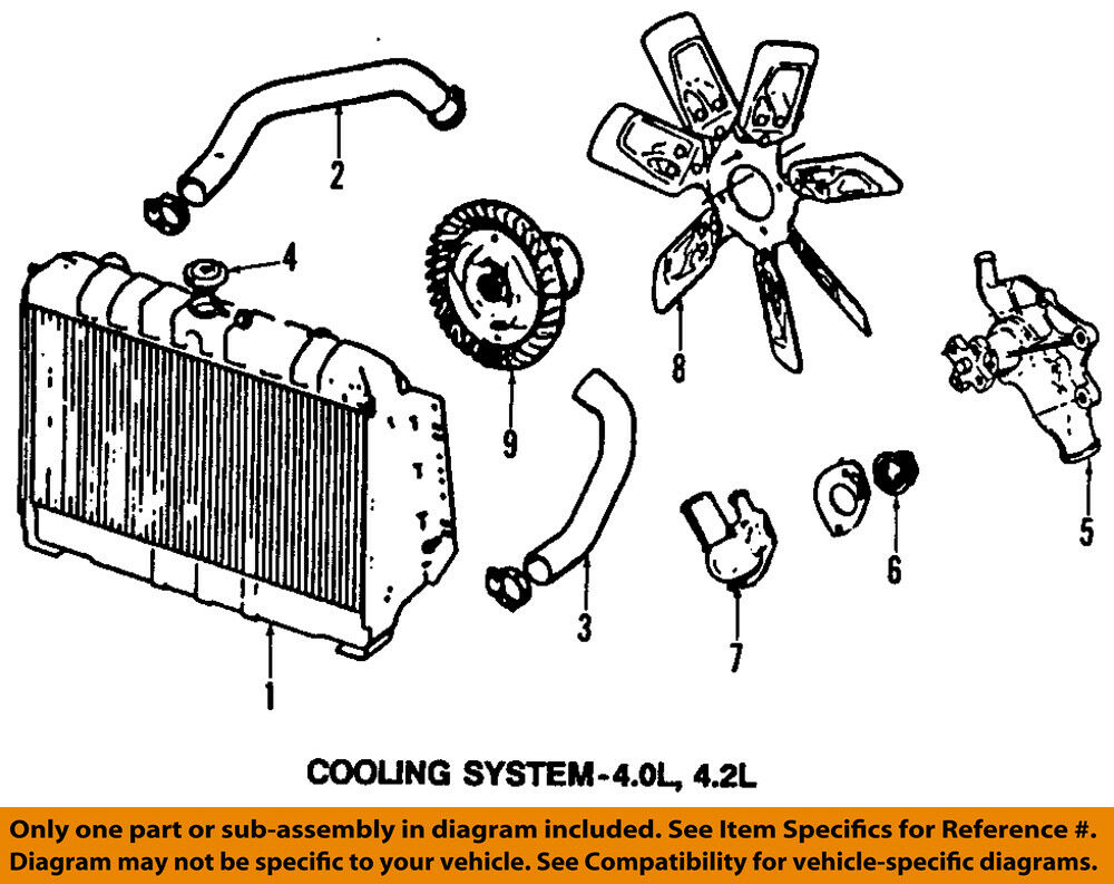 Diagram Of 3 8 Chrysler Engine Coolant Wiring Library 1l Cooling System Oem Thermostat 83501426ad Ebay