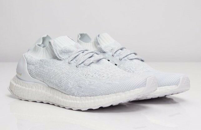 0a6063d1127b Details about adidas ultra boost uncaged triple white (reflective)