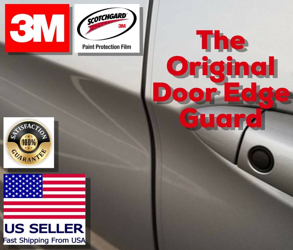 3m 4 door edge guard car paint chip scratch protection trim clear strong film ebay. Black Bedroom Furniture Sets. Home Design Ideas