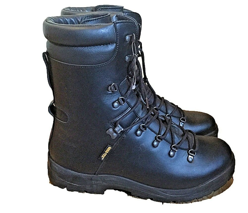 Extreme Cold Wet Weather Black Goretex Lined Military