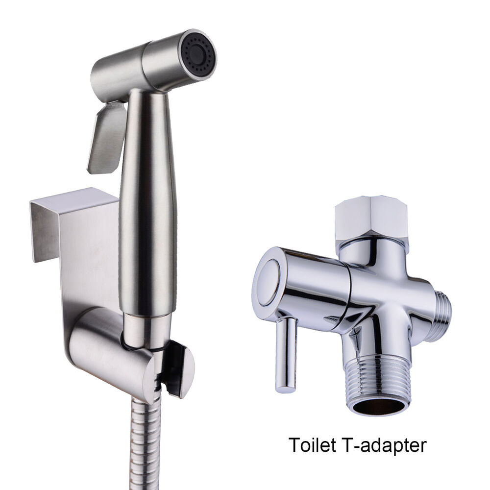 Stainless Steel Handheld Bidet Spray Cloth Diaper Sprayer