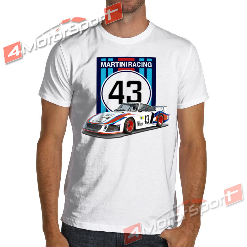 Moby Dick 935 78 Martini Racing T Shirt White Or Gray 24 Le Mans Ruf Turbo Ctr Ebay