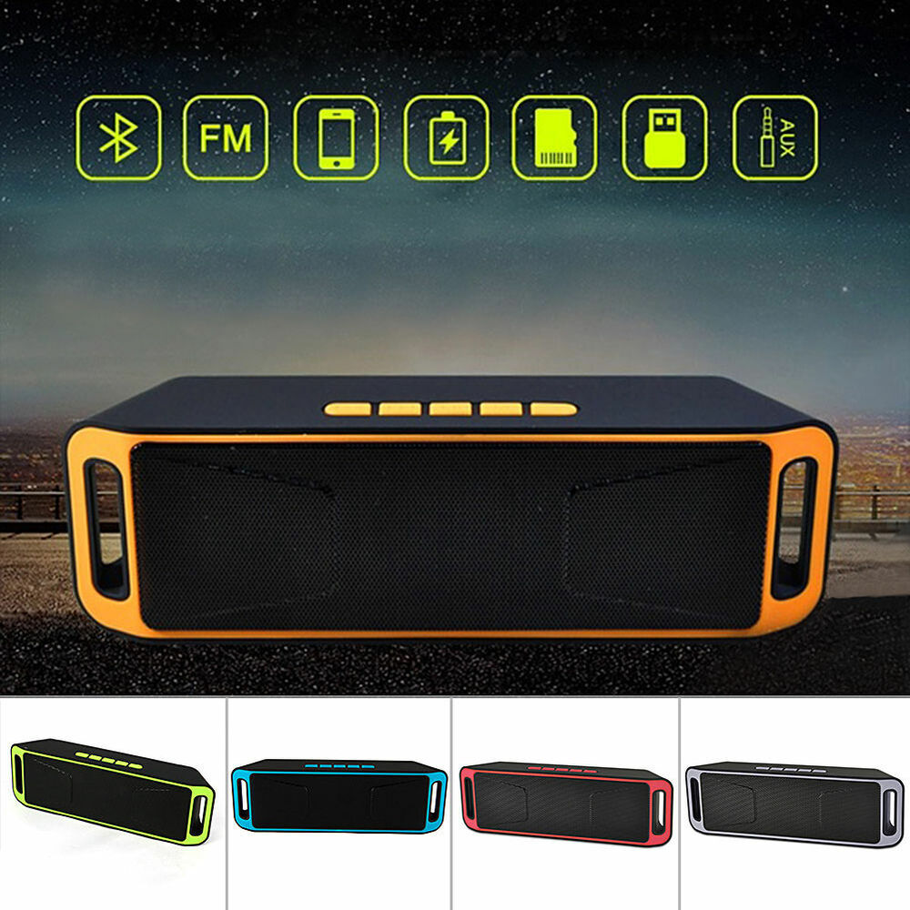 dhl bluetooth lautsprecher wireless soundbar tragbarer speaker mini musikbox usb ebay. Black Bedroom Furniture Sets. Home Design Ideas