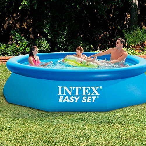 10 39 x30 above ground inflatable swimming pool vinyl garden for Inflatable above ground pools