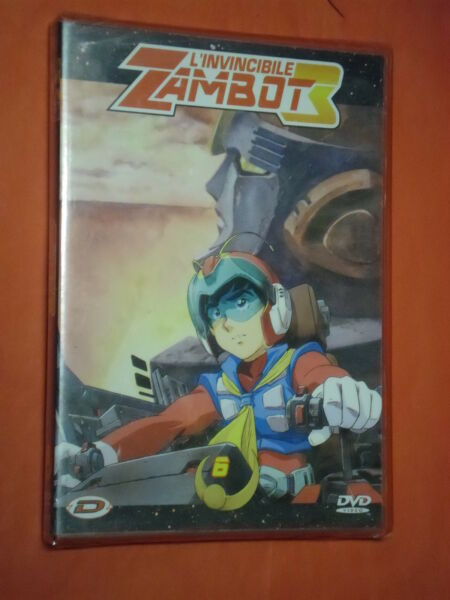 INVINCIBILE ZAMBOT 3 vol 6 - dvd DYNAMIC VIDEO nuovo e sigillato raro ultimo
