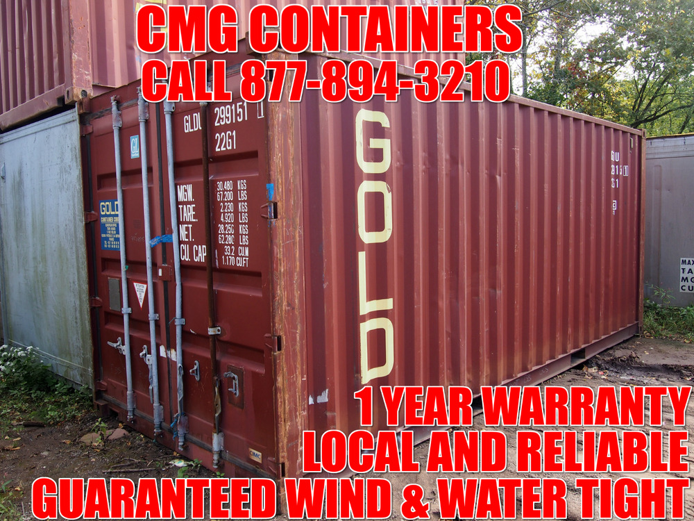 Shipping containers 20 39 storage containers shipping containers chicago il ebay - Shipping container homes chicago ...