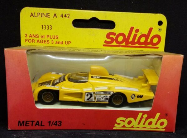 66185 SOLIDO 1/43 - nr 1333 - Alpine A 442 - mint in box