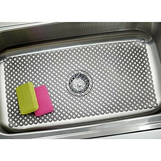 Mdesign Sink Protector Mat For Kitchen Sinks Extra Large