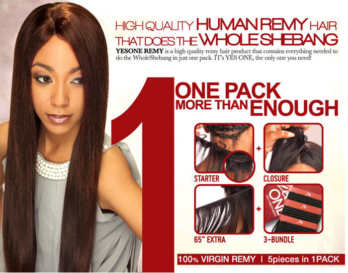 Zury Hollywood Yes One Virgin Remy 100human Hair Weaving One Pack