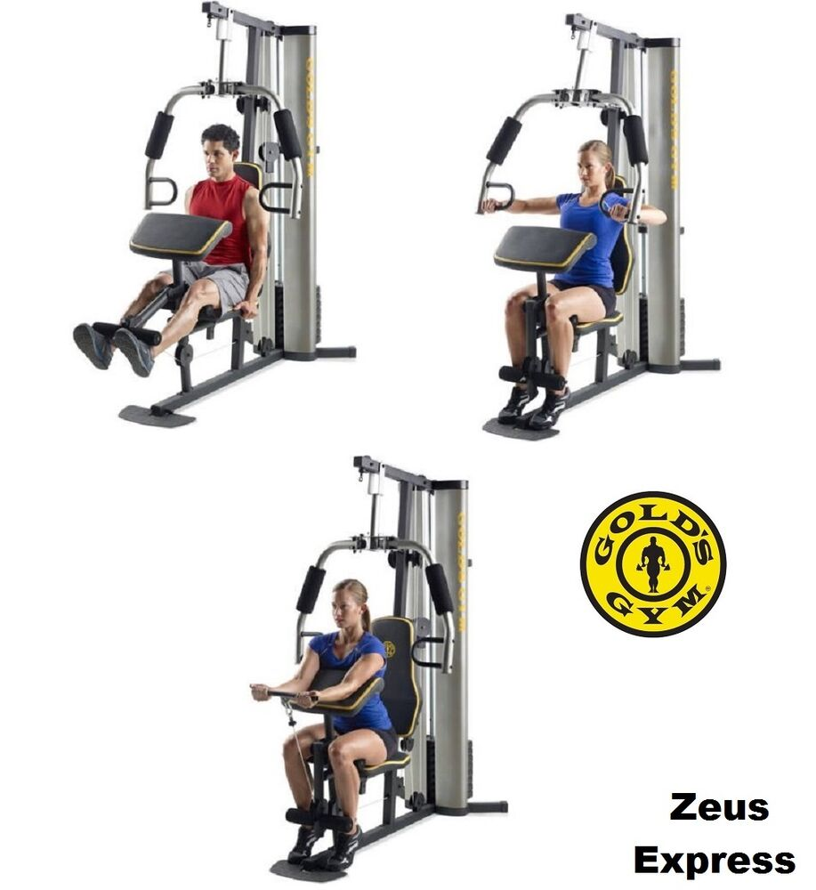Home Exercise Equipment For Legs: Gold's Gym Home Exercise Machine Adjustable Legs Chest