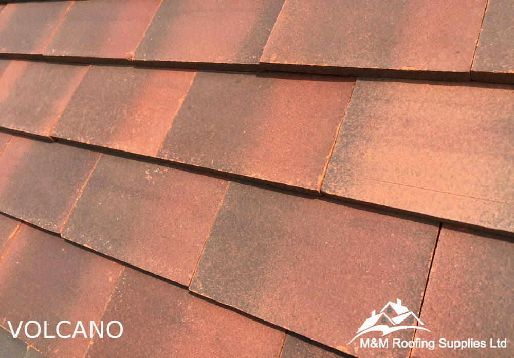 New machine made clay roof tiles volcano plain roof for Buy clay roof tiles online