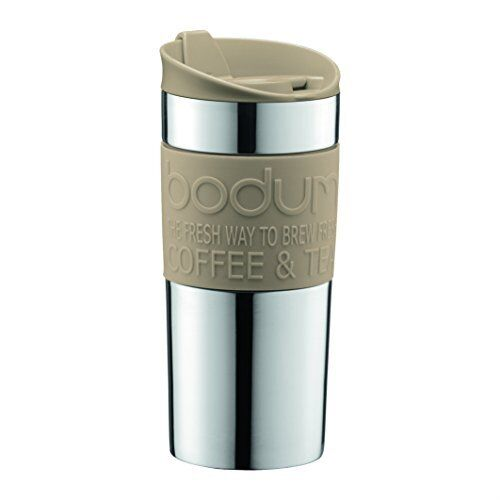 Stainless Steel Insulated Vacuum Travel Coffee Mug Cup 12