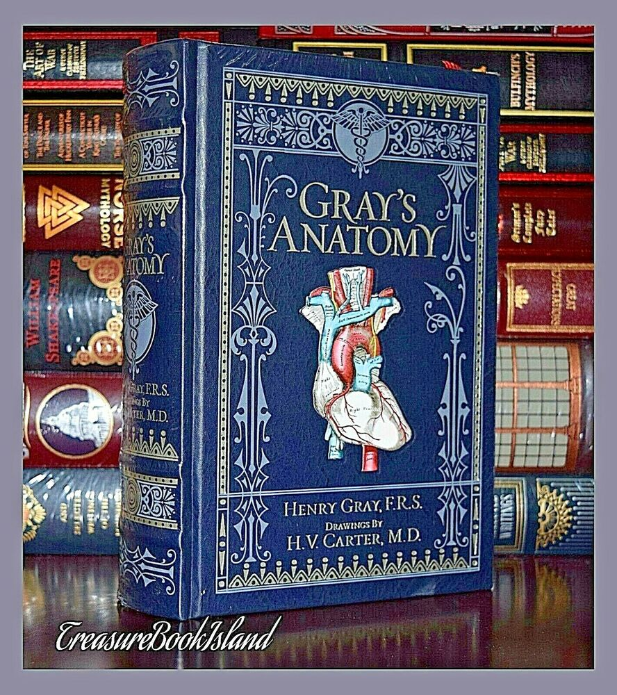 Gray\'s Anatomy by Henry Gray Brand New Sealed Leather Bound ...