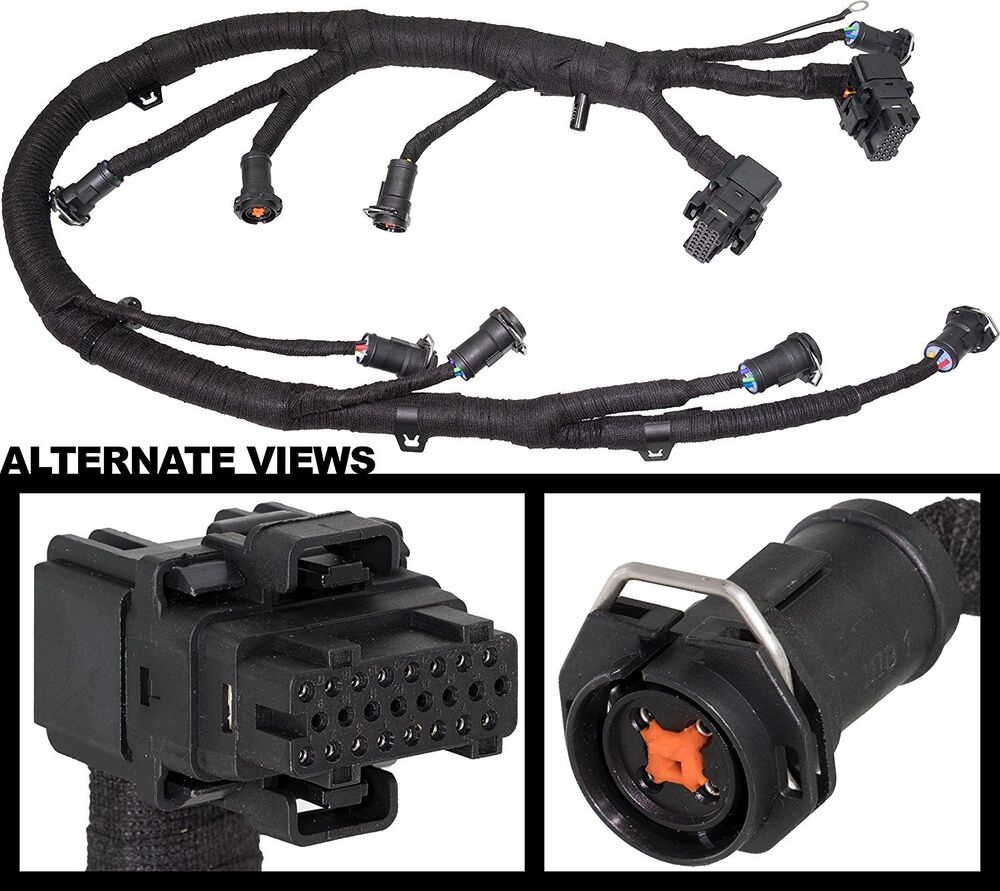 Fuel Injector Ficm Wiring Harness For 03 07 60l Ford Diesel 5 0 Injection Powerstroke 250 350 Ebay