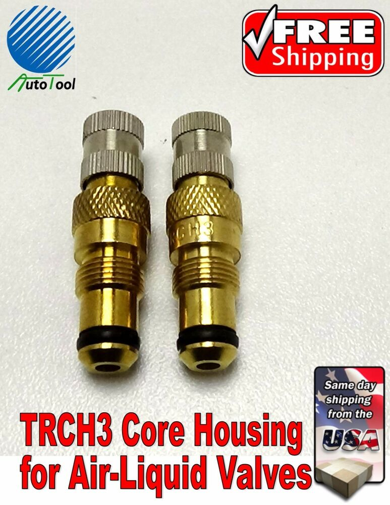 Tractor Valve Stems : Tractor air water tire valve stems core housing trch new
