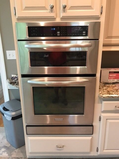 Kitchen Aid Convection Oven Microwave Combination Wall