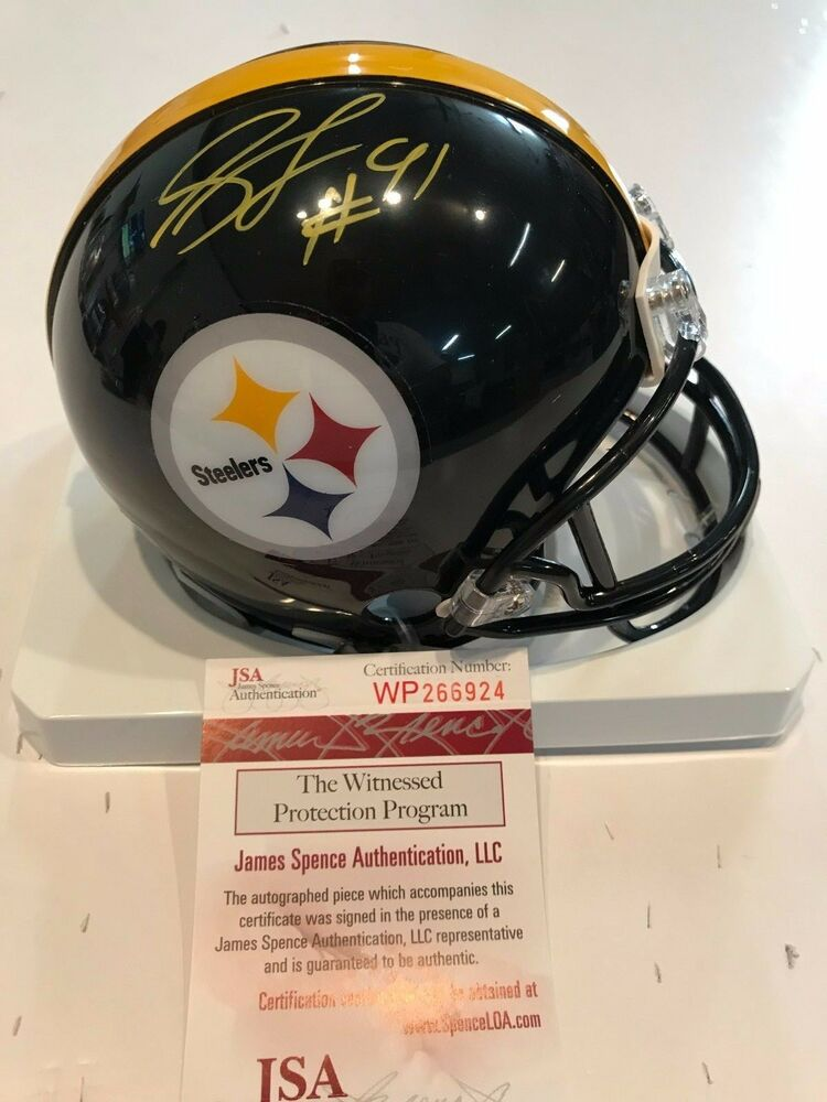 Details about STEPHON TUITT AUTOGRAPHED SIGNED PITTSBURGH STEELERS MINI  HELMET JSA COA d8cf33952