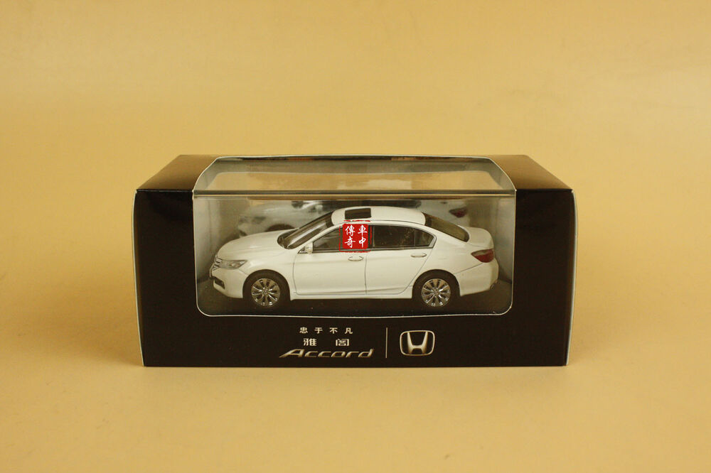 1:43 Honda Accord Diecast Model white color | eBay
