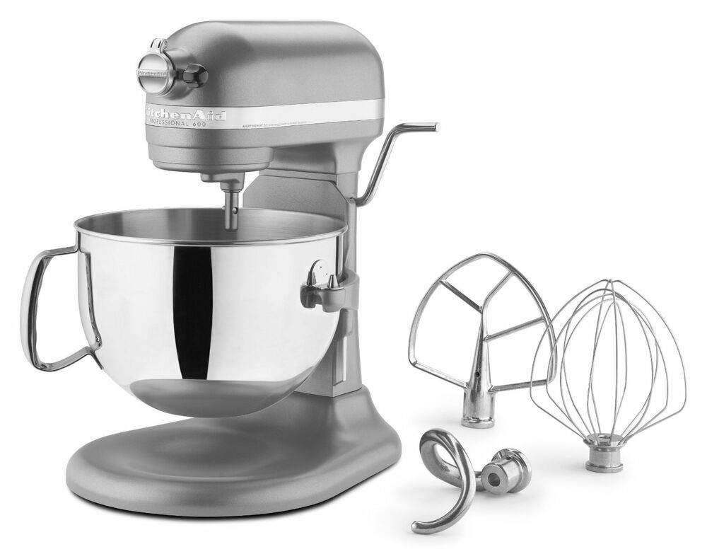 New Kitchenaid 600 Super Large Capacity 6 Quart Pro Stand