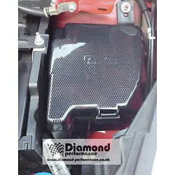 FUSE BOX COVER foR FORD FIESTA Mk7,7.5 ALL MODELS INC ST in CARBON EFFECT