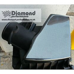 AIR BOX COVER for FORD FIESTA Mk7,7.5  ST in CARBON FIBRE EFFECT