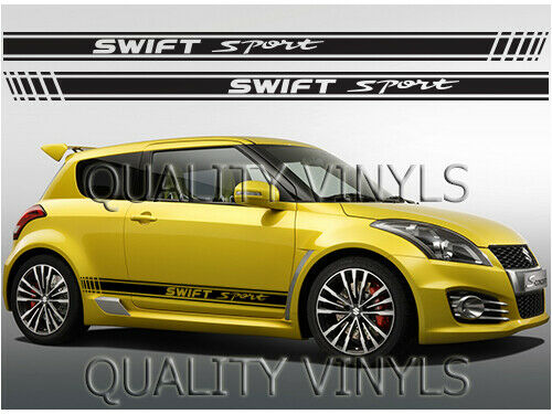 Rs80 Suzuki Swift Sport Racing Stripes Graphic Decal