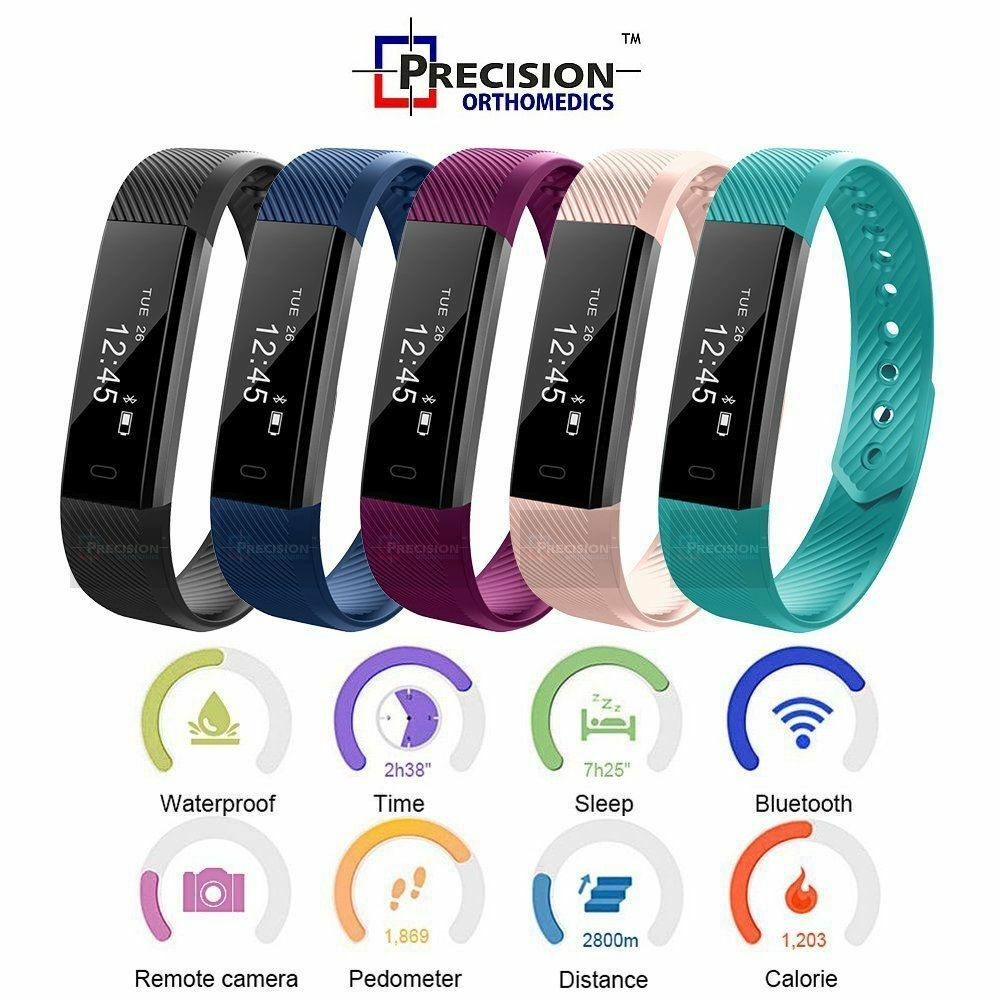fitness activity tracker smart health sports wrist watch band android iphone ebay. Black Bedroom Furniture Sets. Home Design Ideas