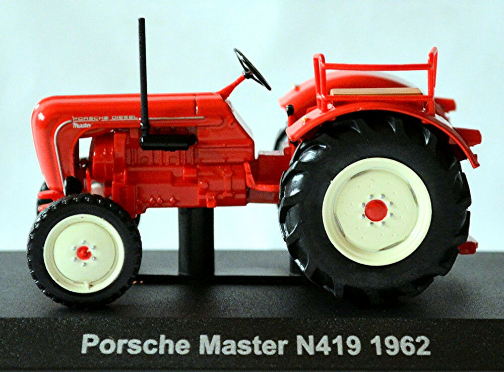 porsche master n419 1962 tracteur hercheur rouge rouge 1 43 ebay. Black Bedroom Furniture Sets. Home Design Ideas