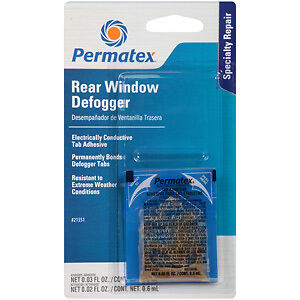 Permatex Rear Window Defogger Tab Adhesive