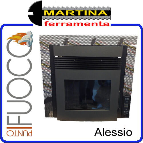 insert chemin e a pellet punto feu mod le alessio 11 kw. Black Bedroom Furniture Sets. Home Design Ideas