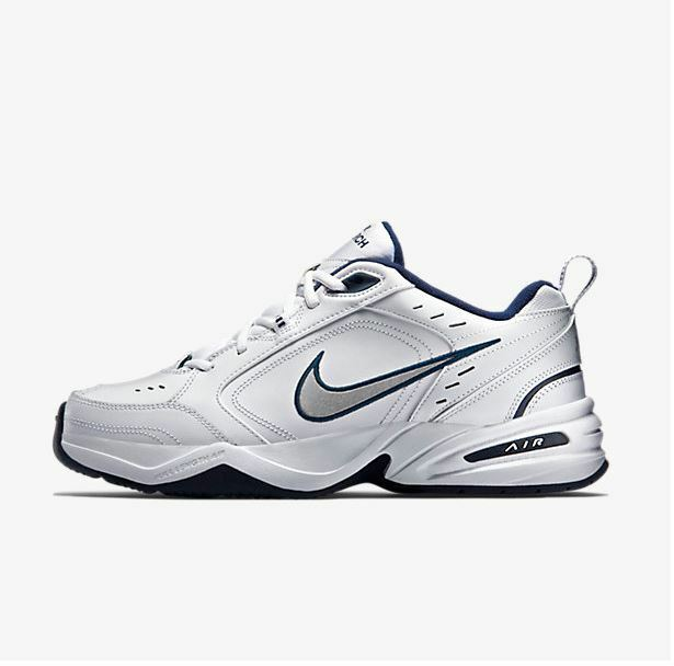 1ecc013bf8af96 Details about Nike Air Monarch IV Men s Running Shoes White Grey 415445 102  Fast shipping K