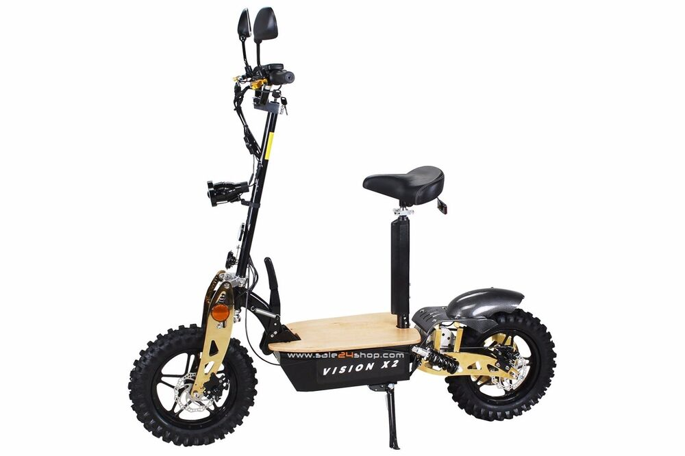 e scooter roller elektroroller eflux vision x2 2000w 60v m. Black Bedroom Furniture Sets. Home Design Ideas