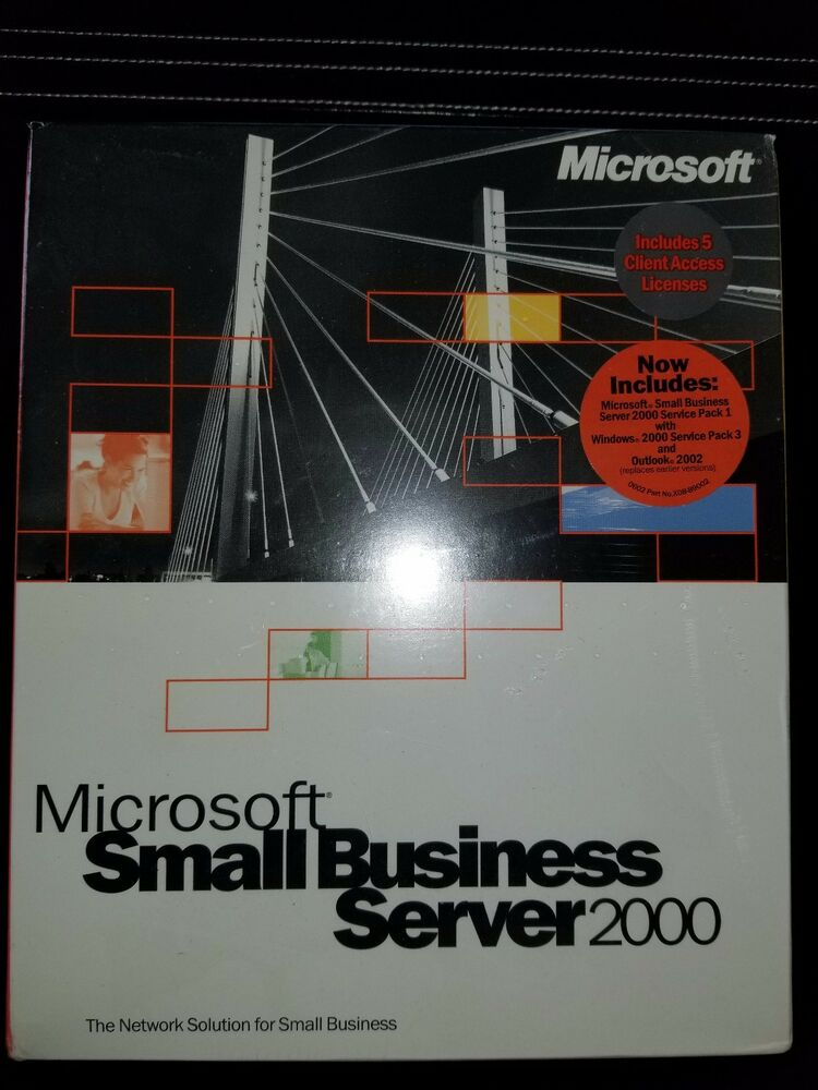 Microsoft Small Business Server 2000 With 5 CALs