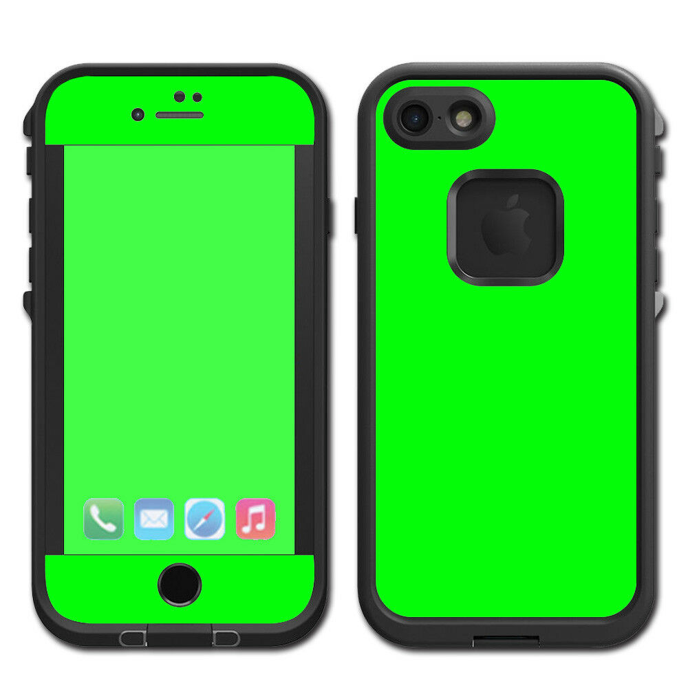 Details about skins decals for lifeproof fre iphone 7 case bright green