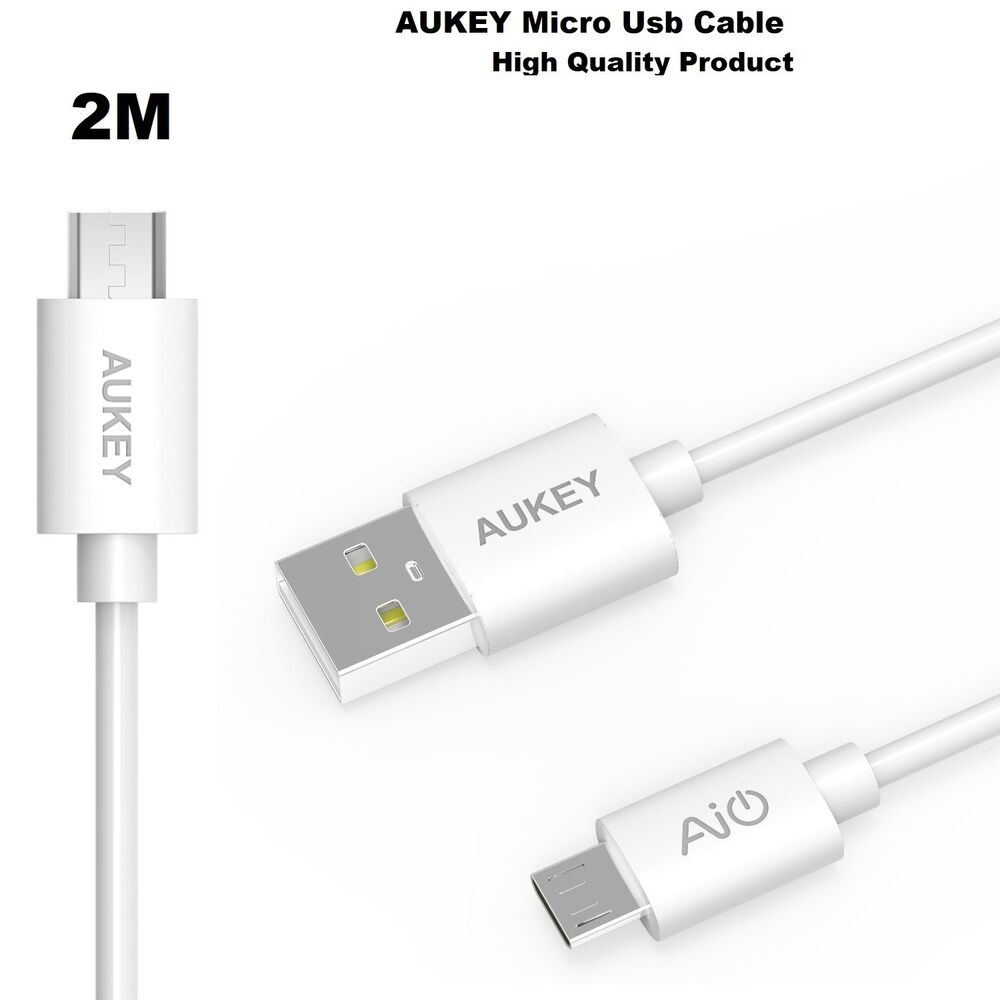 2 Meter Long Official Aukey Premium Hi Speed Quick Charge Usb To Cb D5 Micro 5 Pack Original Kabel Data Cable Ebay