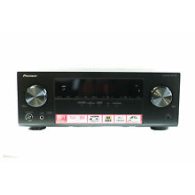 Pioneer 5.1 Channel A/V Receiver with Bluetooth, 4 HDMI & 1 USB Ports in Black
