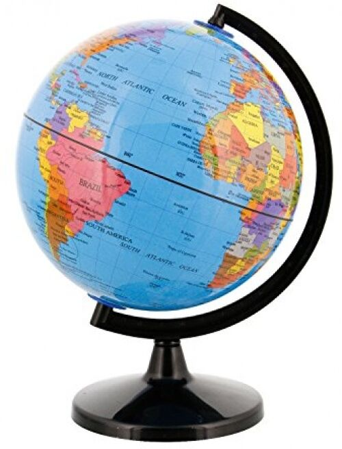 Earth globe world map rotating classroom geography kids learning desktop decor ebay - Globe main office address ...