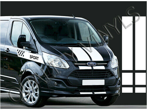 rs240 ford transit custom sport side bonnet bumper racing. Black Bedroom Furniture Sets. Home Design Ideas
