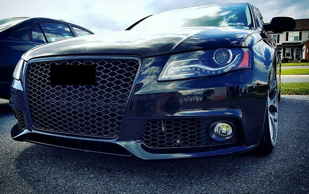 audi a4 b8 8k pre facelift badgeless mesh grill debadged. Black Bedroom Furniture Sets. Home Design Ideas