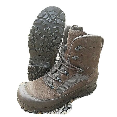 img-BRITISH ARMY - HAIX Boots Desert Combat High Liability Brown Genuine Surplus