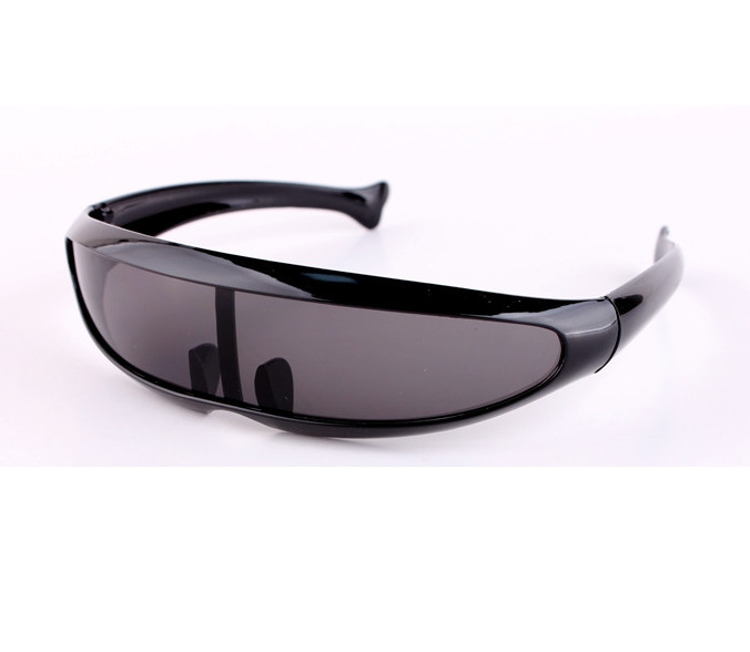 8bb780b154 Details about Outdoor X-men Outer Space Robot Conjoined Mercury Lens  Cyclops Sports Sunglasses
