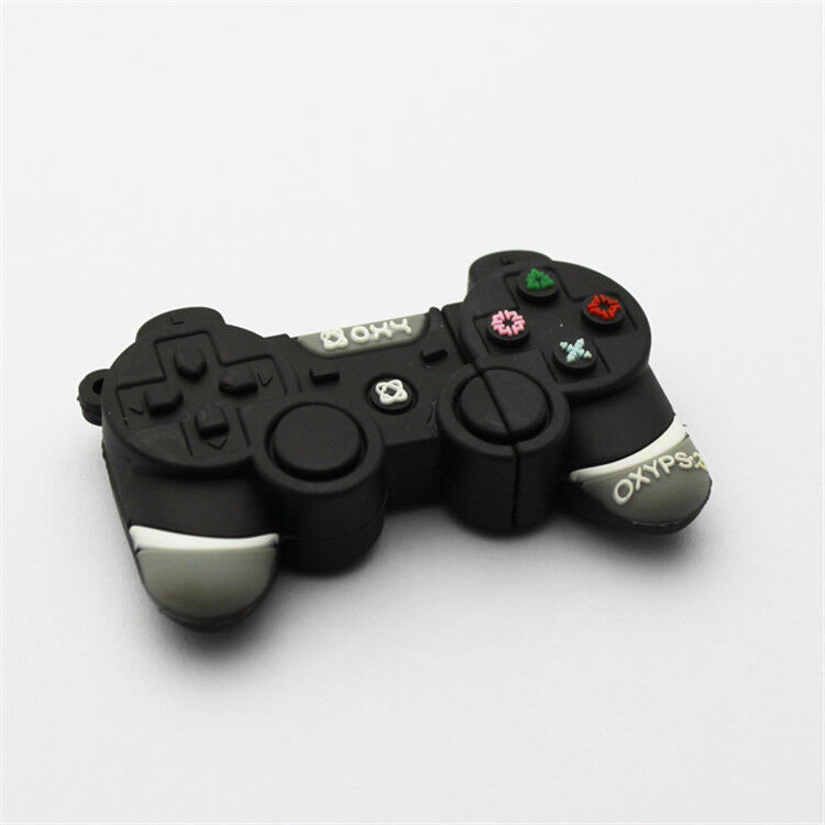 black game controller gamepad 16gb cool novelty usb drive memory stick fun gift 729557043895 ebay. Black Bedroom Furniture Sets. Home Design Ideas