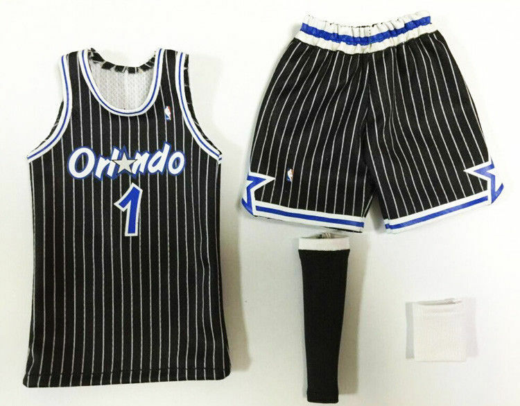 95c3e576b Details about NEW 1 6 scale Orlando Magic NO.1 Tracy McGrady jersey  Basketball superstar