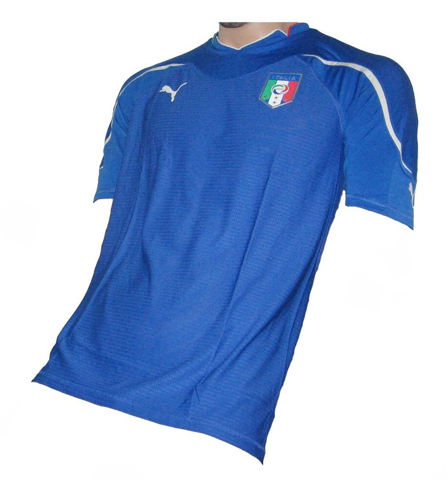 0fc6327f14 Italy Italia Jersey Puma Player Issue Home 2010 Shirt Soccer